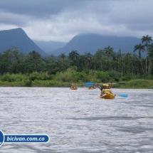 BICIVAN Kayak Colombia - Río Anchicaya