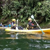 Kayak Rio Anchicaya - Bicivan Kayak Colombia