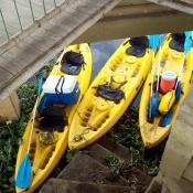 Laguna de Sonso Kayak Colombia