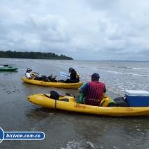 Bicivan Tour Kayak Rio Anchicaya Sabaletas Mar Valle del Cauca Pacifico Colombia