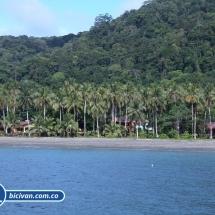Bicivan Tour Kayak Buceo Mar isla gorgona Pacifico Colombia